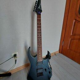 Электрогитары и бас-гитары - Ibanez RG421EX BLACKFLAT, 0