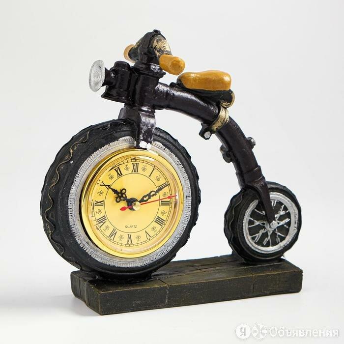 Часы настольные 'Велосипед', дискретный ход, 20 х 21 см, d8 см по цене 1517₽ - Часы настольные и каминные, фото 0