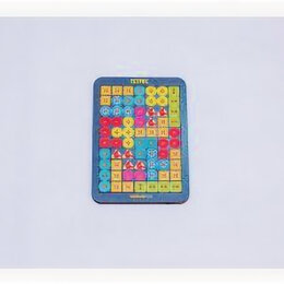 Игровые приставки - Тетрис малый, Пуговки, 0