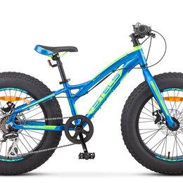 Велосипеды - Подростковый фэт-байк stels pilot 280 md 20, 0
