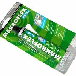 Аксессуары, комплектующие и химия - Силикон Makroflex SX/SX101 санитар белый 85мл (на блистере)1/24шт, 0