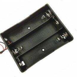 Аккумуляторные батареи - Бокс для 3 аккумулятора 18650, 0