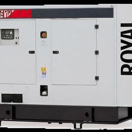 Электрогенераторы и станции - Дизельный генератор genmac royal g180vs, 0