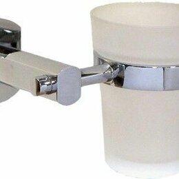 Тумбы - Стакан для ванной настенный, одинарный хром. KONNER 2106, 0