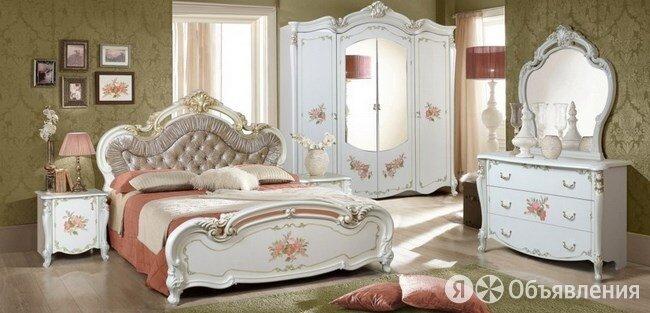 Спальня Альба крем глянец по цене 96000₽ - Кровати, фото 0