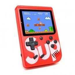 Ретро-консоли и электронные игры - Игровая приставка SUP Gamebox Plus 400 в 1, красный, 0