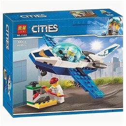 Автокресла - Конструктор City 11205 (66 деталей) Патрульный самолет, 0