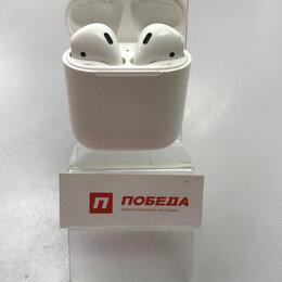 Наушники и Bluetooth-гарнитуры - наушники AirPods 1, 0
