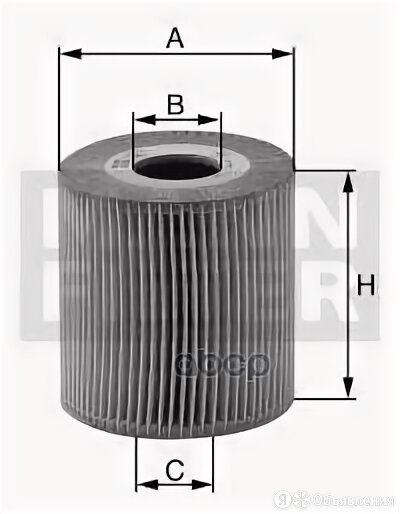 Фильтр Масляный Lexus Rx/Toyota Camry 3.5 06- MANN-FILTER арт. HU7019Z по цене 416₽ - Двигатель и комплектующие, фото 0