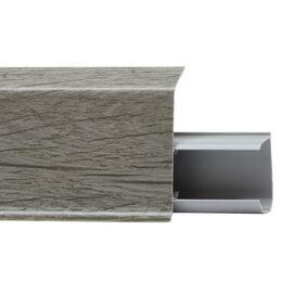 Плинтусы, пороги и комплектующие - WINART Плинтус WINART QUADRO 55 536 Дуб Сепия, 0