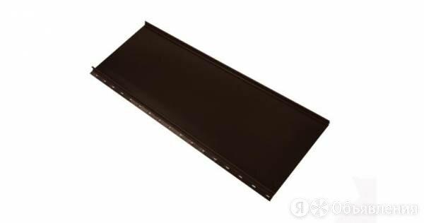 Кликфальц Mini Гранд Лайн / Grand Line, Satin 0.5, цвет RAL 8017 (шоколад) по цене 846₽ - Кровля и водосток, фото 0