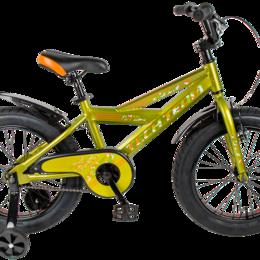 """Велосипеды - Велосипед TechTeam Bully 16"""" 2021 green, 0"""