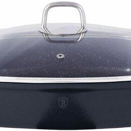 Сковороды и сотейники - Сотейник с крышкой 3,8л/28см Berlinger Haus Granit Diamond Line BH-1104, 0