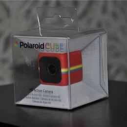 Экшн-камеры - Polaroid Cube Red (новая, бракованная), 0