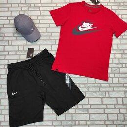 Спортивные костюмы - Комплект спортивный футболка и шорты, 0