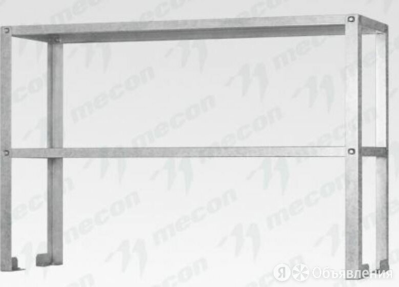 "Полка-надстройка настольная ПННб - 800*400*800 ""Base"", цинк, 2 уровня по цене 5543₽ - Кровати, фото 0"