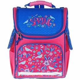 Рюкзаки, ранцы, сумки - Ранец ArtSpace Junior «Spring» 37*28*21см, 1 отделение, 3 кармана, анатомическая, 0