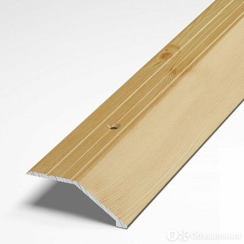 Разноуровневый алюминиевый порог Лука 00000001324 по цене 419₽ - Отделочный профиль, уголки, фото 0