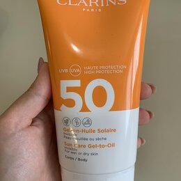 Загар и защита от солнца - Clarins dry touch facial sun care cream spf 50+, 0