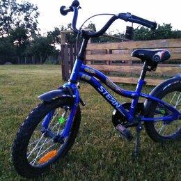 """Велосипеды - Велосипед для мальчиков stern rocket 16"""", 0"""