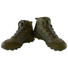 Обувь для спорта - Ботинки зимние спортивные мужские трекинговые, 0