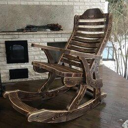 Кресла и стулья - Кресло качалка из дерева, 0