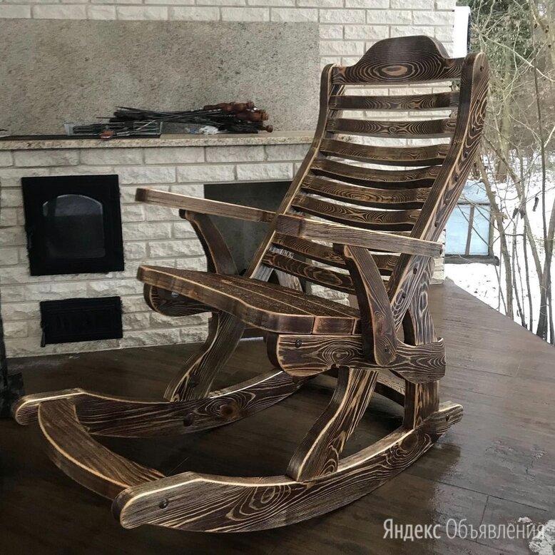 Кресло качалка из дерева по цене 16900₽ - Кресла и стулья, фото 0