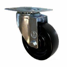 Оборудование для транспортировки - Колесная опора поворотная термостойкая RFG 100 ф 100 мм, 0