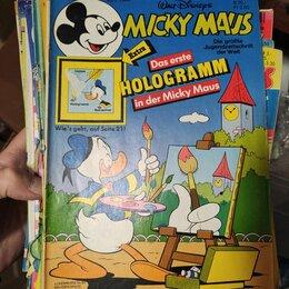 Комиксы - журнал комикс Мики Маус, номер 31, 1986 год, 0