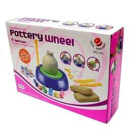 Лепка - Игровой набор Гончарный круг Pottery Wheel, цвет микс, 0