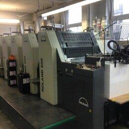 Печатники - Печатник офсетной печати на MAN ROLAND 205E, 0