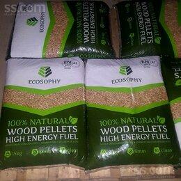 Дрова - Высший сорт пеллет, светлые Ecosophy wood pellets, 0