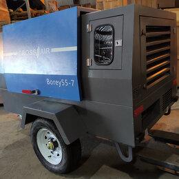 Воздушные компрессоры - Компрессор дизельный Crossair Borey-55, 0