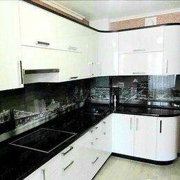 Мебель для кухни - Кухня черно белая, 0