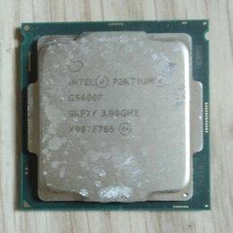 Прочие комплектующие - Процессор Intel Pentium Gold G5600F, 0