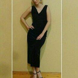 Платья - Платье вечернее велюр 48-50р., 0