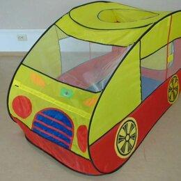 Игровые домики и палатки - Палатка детская  машинка, 0
