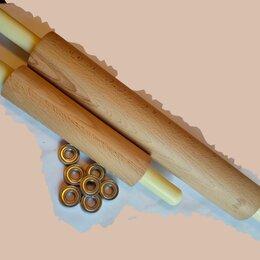 Скалки - Скалка деревянная, длинная, 0