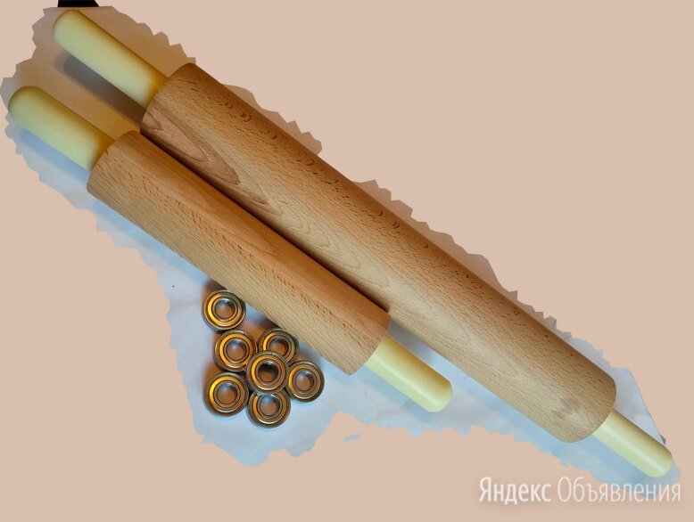 Скалка деревянная, длинная по цене 3700₽ - Скалки, фото 0