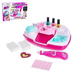 Детям - Набор для девочек для маникюра, с аксессуарами, 0