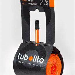 Покрышки и камеры - Камера велосипедная ELVEDES TUBOLITO Tubo-MTB-27,5, для горного велосипеда, с , 0