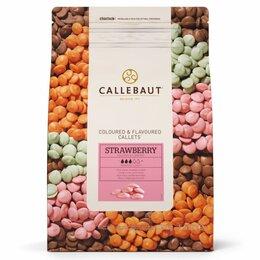 Продукты - Цветной шоколад Callebaut Strawberry, 0