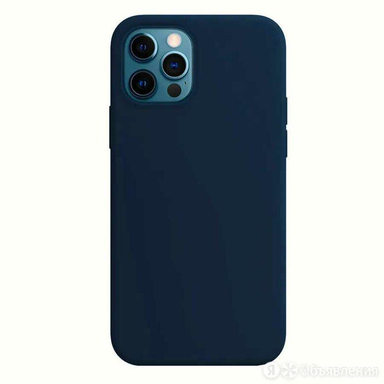 Чехол Devia Nature Silicone Case для iPhone 12 mini - Blue, Синий по цене 590₽ - Чехлы, фото 0