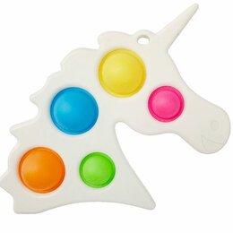 Игрушки-антистресс - СИМПЛ ДИМПЛ: Игрушка-антистресс ЕДИНОРОГ большой (пятерной), 0