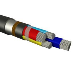 Кабели и провода - АВБШв 5х150 мс(N,PE)-1 ГОСТ, 0