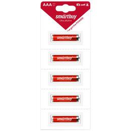 Батарейки - SMARTBUY Батарейка SMARTBUY AAA (LR03) алкалиновая, BL5 отрывной, 0
