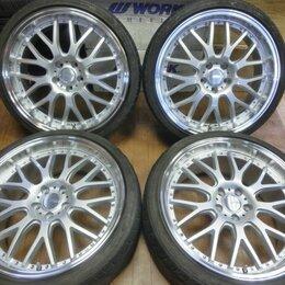 Шины, диски и комплектующие - Комплект колес 225/35R20 и 245/35R20, 5х114.3, 0
