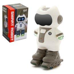Роботы и трансформеры - Робот «Забавный роллер», световые и звуковые эффекты, цвета МИКС, 0