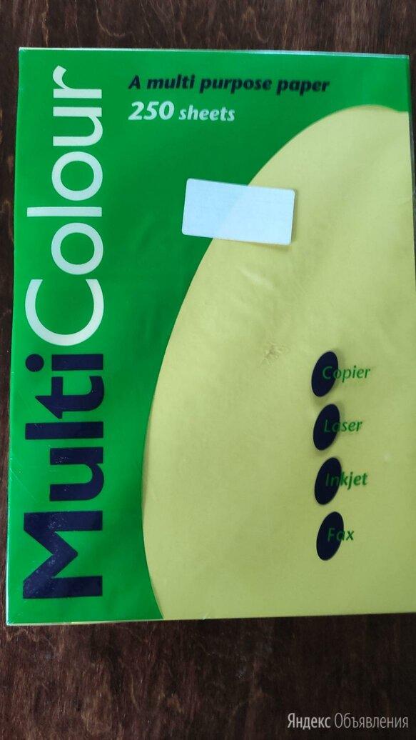 Цветная офисная бумага А4 multicolor по цене 200₽ - Бумага и пленка, фото 0