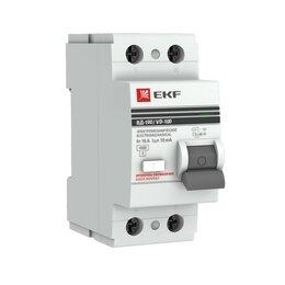 Защитная автоматика - EKF PROxima устройство защитного отключения УЗО 2P 40А/30мА (электромеханичес..., 0